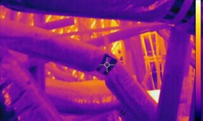Infrared - Attic Duct Leaks